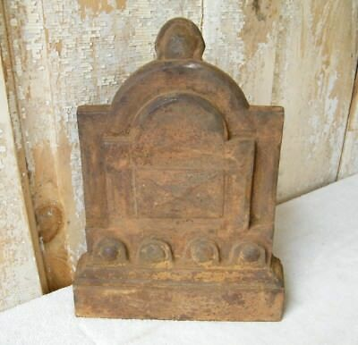 Old Rusty Cast Iron Architectural Salvage Display Piece