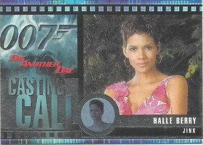 2002 James Bond OO7 007 Die Another Day Casting Call chase card #C2