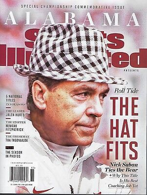 Alabama  Championship Commemorative Issue by Sports Illustrated