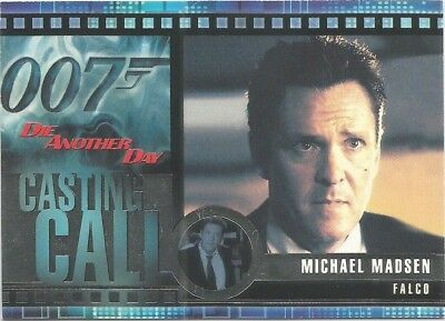 2002 James Bond OO7 007 Die Another Day Casting Call chase card #C8