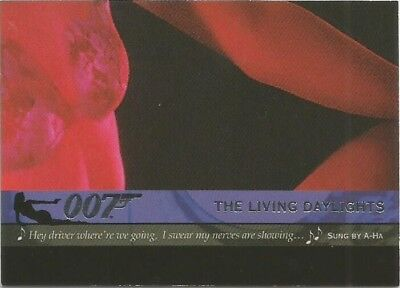 2004 Quotable James Bond OO7 007 Theme Songs chase insert card # T3