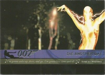 2004 Quotable James Bond OO7 007 Theme Songs chase insert card # T10