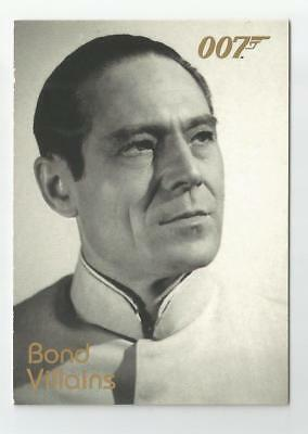2004 Quotable James Bond OO7 007 Villains chase card # F1 Dr. No