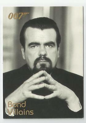 2004 Quotable James Bond OO7 007 Villains chase card # F11 Hugo Drax