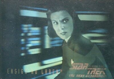 Star Trek The Next Generation Season 5 Foil Hologram chase card #H10 Ensign Ro