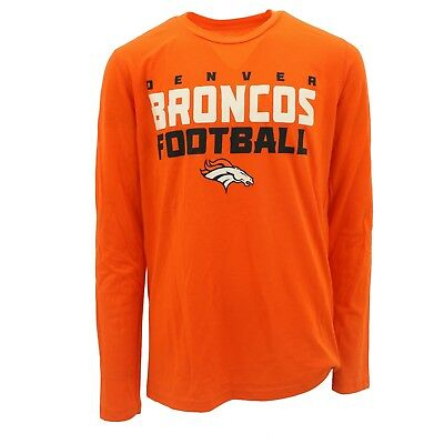 ba01c93b072 Denver Broncos Kids Youth Size Long Sleeve Shirt NFL Team Apparel New with  Tags