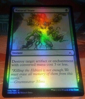 Natural State foil - Oath of the Gatewatch NM MTG Magic the Gathering c5