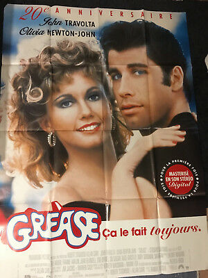 Grease original 20th anniversary poster affiche Grand Format