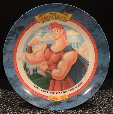 Vintage 1997 Walt Disney's Hercules McDonalds Fast Food Plate Movie Promo