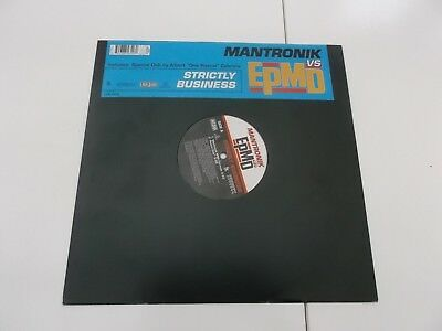 mantronix epmd strictly business vinyl record 12 inch