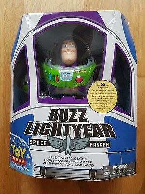 Buzz Lightyear Figur US 1st Edition Thinkway Toys NEU