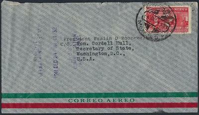 Mexico 1941 From The Private Collection Of President Franklin D Roosevelt War Ti