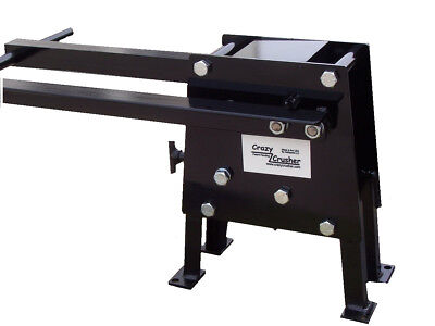 Patented hand operated rock crusher, 100% Steel With /Out Hitch mount.
