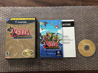 The Legend of Zelda: The Wind Waker (Nintendo Game Cube) Complete - Tested