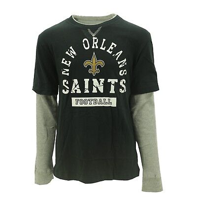 check out f27d5 a569f NEW ORLEANS SAINTS NFL Team Apparel Kids & Youth Size Long Sleeve Shirt New