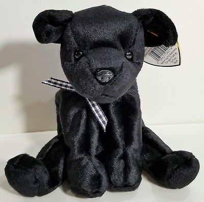 "TY Beanie Babies ""LUKE"" Black Lab Dog - MWMTs! RETIRED! A MUST HAVE! GREAT GIFT!"