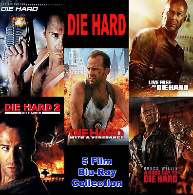 DIE HARD Blu-Ray 5-Movie Collection • *NEW (No Digital Copy Included) Sealed