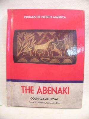 USED The Maine Abenaki Indian Book 1989 Hardcover History 110 Pages ~ Nice!