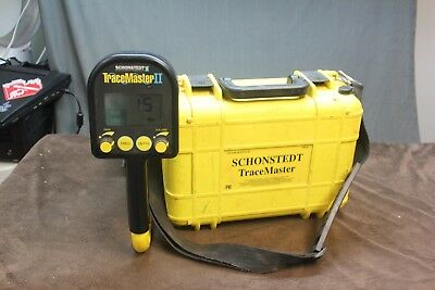 Schonstedt Tracemaster/ II Pipe and Cable Underground Utility Locator Kit