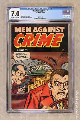 Men Against Crime #6 1951 CGC 7.0 1243270005