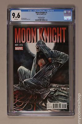 Moon Knight (6th Series) 1B 2016 CGC 9.6 0292813008