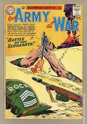 Our Army at War #128 1963 GD/VG 3.0