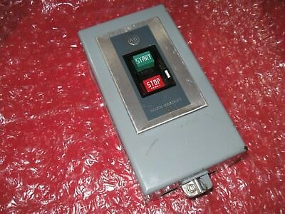 Allen Bradley 609-AAW manual motor starter, with enclosure