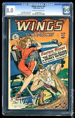 Wings Comics #98 1948 CGC 8.0 1102690002