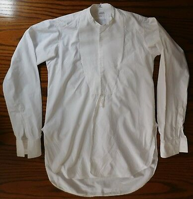 Vintage Marcella dress shirt Horaces 14.5 tunic mens evening wear 1920s 1930s 4