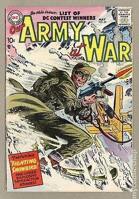 Our Army at War #58 1957 VG+ 4.5