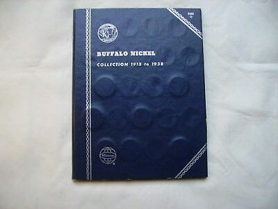 Buffalo Nickels Collection #1 1915 to 1938 in Whitman Folder 46 Coins
