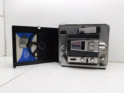 Bell Howell Movie Projector Autoload Super 8 Model 482 Tested