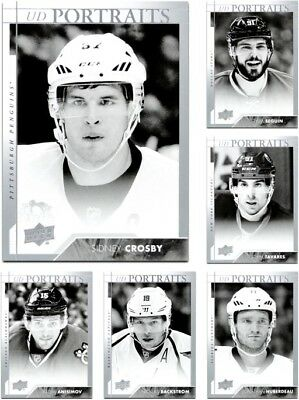 2017-18 UD Portraits Base & Rookies **** PICK YOUR CARD **** From The Insert SET