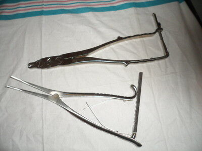 Rod Distractor & Rod Gripper, Spine Orthopedic Surgical Instruments (2pc)