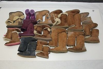 UGG Lot Wholesale Used Boots Rehab Resale Various Sizes Huge Collection a=Zz