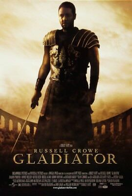Gladiator A1 To A4 Size Poster Prints