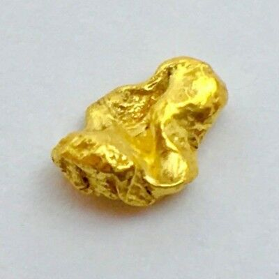 Genuine Natural N. California .663 Gram Placer Gold Nugget Bullion