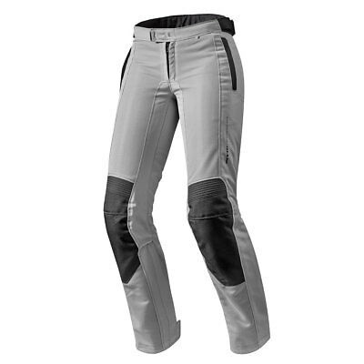 Rev'it! Airwave 2 Silver Motorcycle Motorbike Ladies Textile Trouser All Sizes