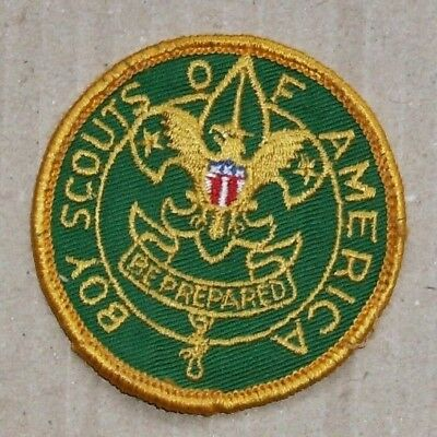 Vintage Boy Scouts of America Be Prepared Patch