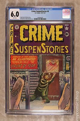Crime Suspenstories (E.C. Comics) #8 1951 CGC 6.0 1448403019