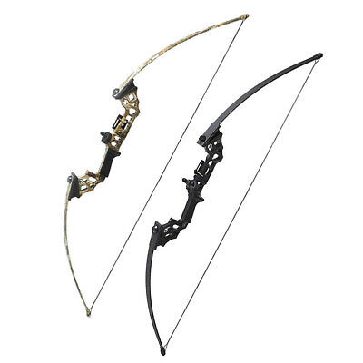 40LBS Straight Pull Bow Longbow Hunting JUNXING Archery Right Hand Black/Camo