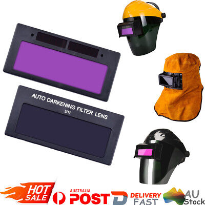 Solar Auto Darkening Welding Lens Filter Shade For TIG Welding Helmet Mask AU