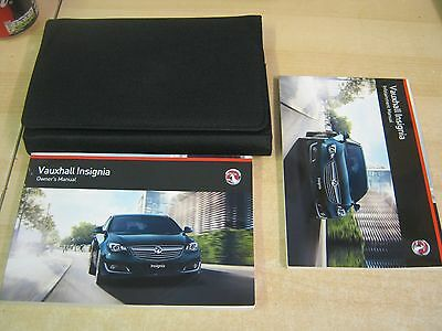 genuine vauxhall insignia owners manual handbook 2013 2015 inc sat rh picclick co uk Vauxhall VXR Vauxhall VXR