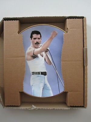 FREDDIE MERCURY : Live Aid - Queen - Lawrence Seymour Collectors Plate