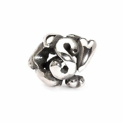 Trollbeads original authentic LETTERA S -  TAGBE-10078