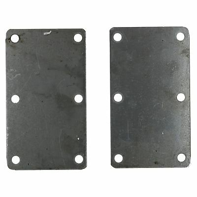 350KG & 500KG Mounting Plate (Pair) Suspension Welding On Plate 6 Hole