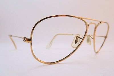 Vintage B&L Ray Ban eyeglasses frames aviator size 54-16 made in the USA
