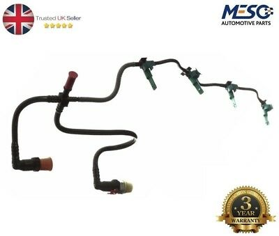 Transit 2.2 Mk7 Fuel Injector Return Pipe Leak Off + Clips Relay Boxer Ducato