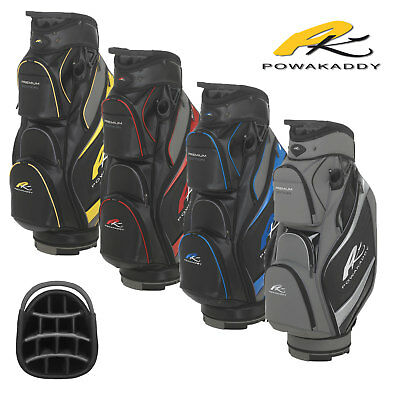 New 2018 Powakaddy Premium Cart Trolley Golf Bag 14 Way Divider
