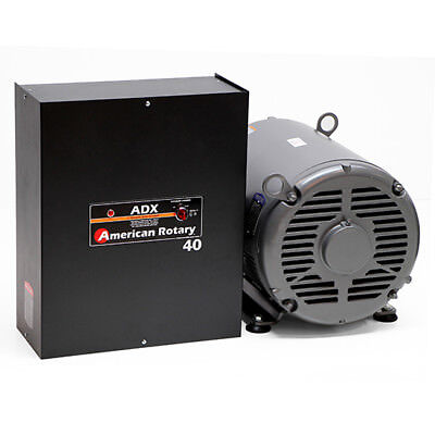 American Rotary ADX40 | 40HP 240V Wall Mount ADX Series Rotary Phase Converter